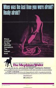 Cartaz de cinema de The Mephisto Waltz (1971)