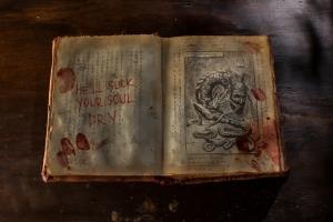O fatídico livro aberto...